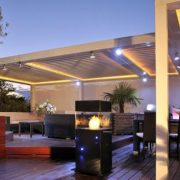 Adjustable Louvre Roofs - Contemporary style