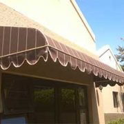 Fixed Canvas Awning - Bullnose