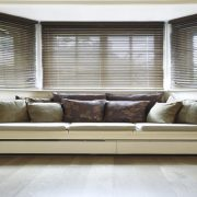 PVC Blinds in living area