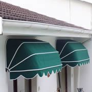 Fixed Canvas Awning - Basket