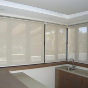 Roller Blinds in Shearweave Fabric
