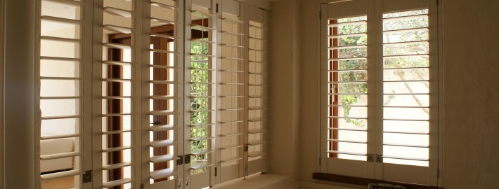 PVC Shutters are the perfect addition to any bathroom