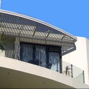 Fixed Sun Louvres can be installed vertically or horizontally