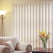 Vertical Blinds add stylish simplicity