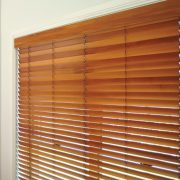 Wooden Blinds add a natural texture to your windows