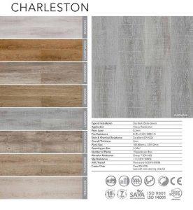 Belgotex Vinyl Flooring - Charleston Range