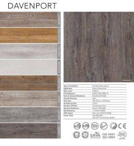 Belgotex Vinyl Flooring - Davenport Range