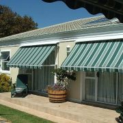 Fall Arm Awnings offers flexibility from the harsh South African sun