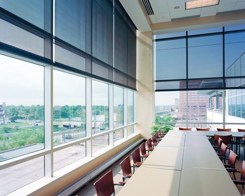 Internal Solar Screens - Ideal for commercial offices