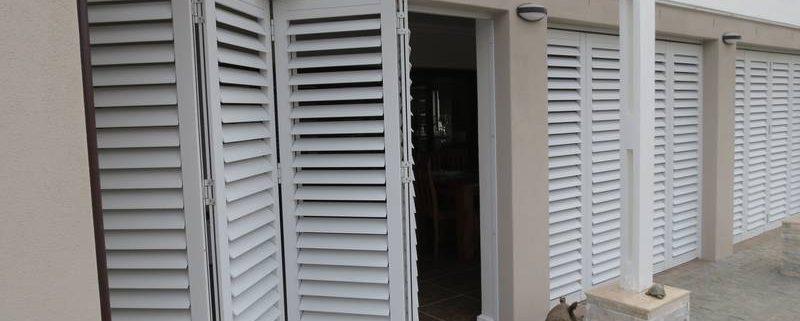 Aluminium Security Shutters - lock up and go