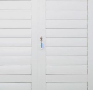 Security Shutters Rabbet stile example