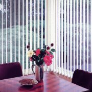 Vertical Blinds are ideal for home or office