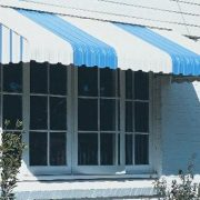 Aluminium Awning - Curved