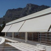 Fall Arm Awnings great for commercial use