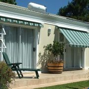 Fall Arm Awnings protects your home from direct sunlight