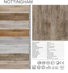 Belgotex Vinyl Flooring - Nottingham Range