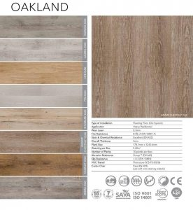 Belgotex Vinyl Flooring - Oakland Range