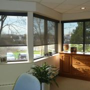 Internal Solar Screens - Protection from harsh sunlight