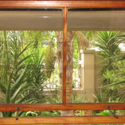 Clear Burglar Bars - a must for your home