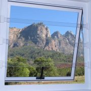 Clear Burglar Bars - Safety without compromising your view
