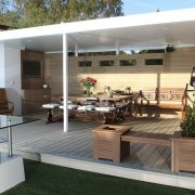 Under-Deck System - Ideal patio roof solution