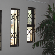 Window Security Fixtures - custom made to fit any window