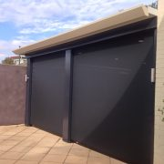 External Solar Screens are available for large openings