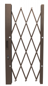 Diamond Trellis Security Door
